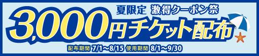 激得!夏限定クーポン祭!